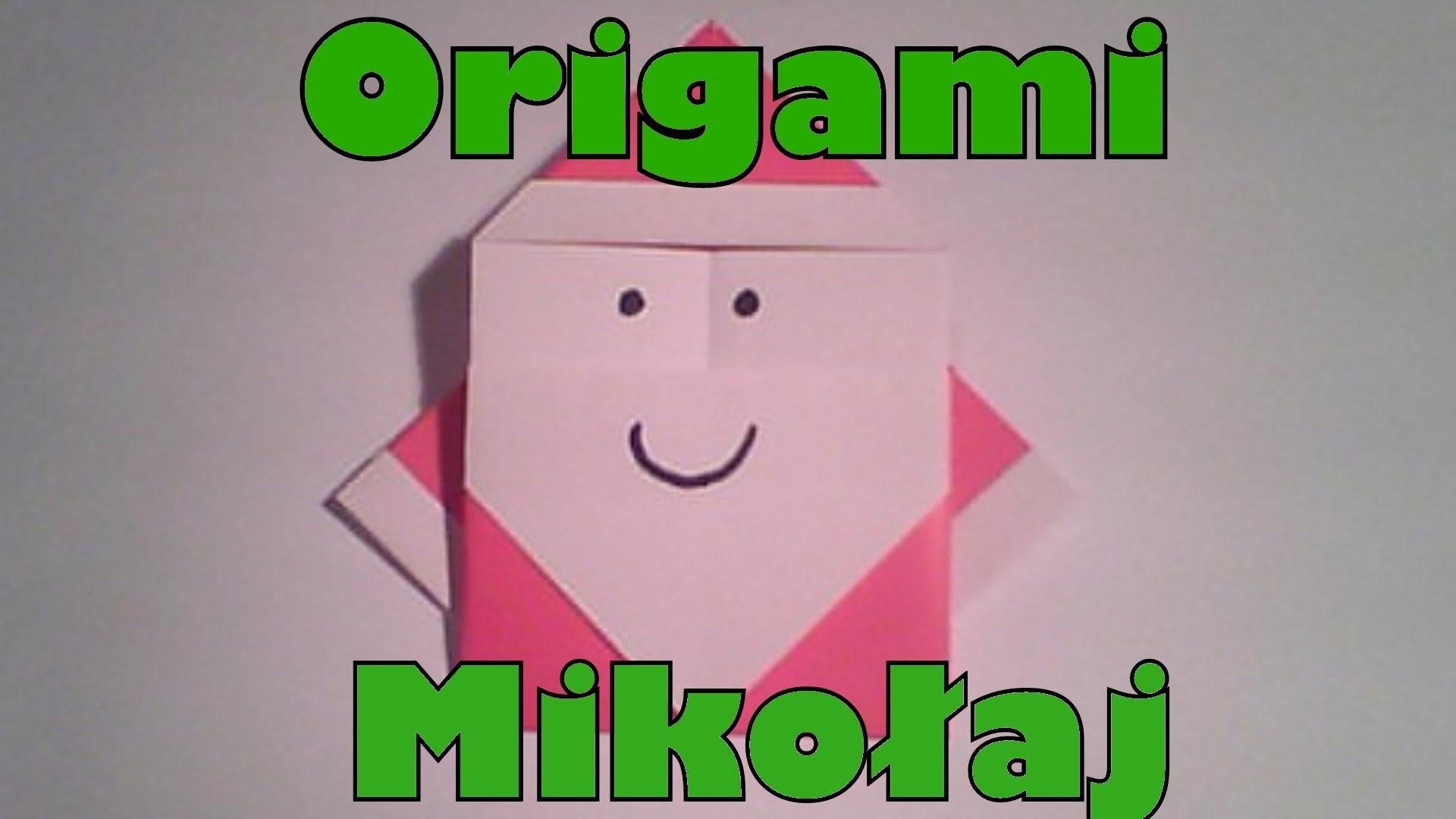Origami - Mikołaj