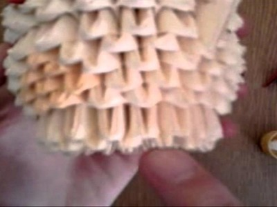Origami modułowe: kurczak #4 - Nóżki