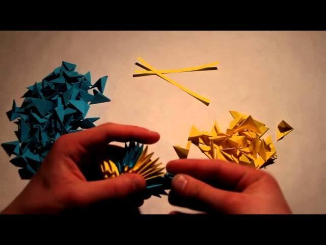 Origami Modułowe : Motyl