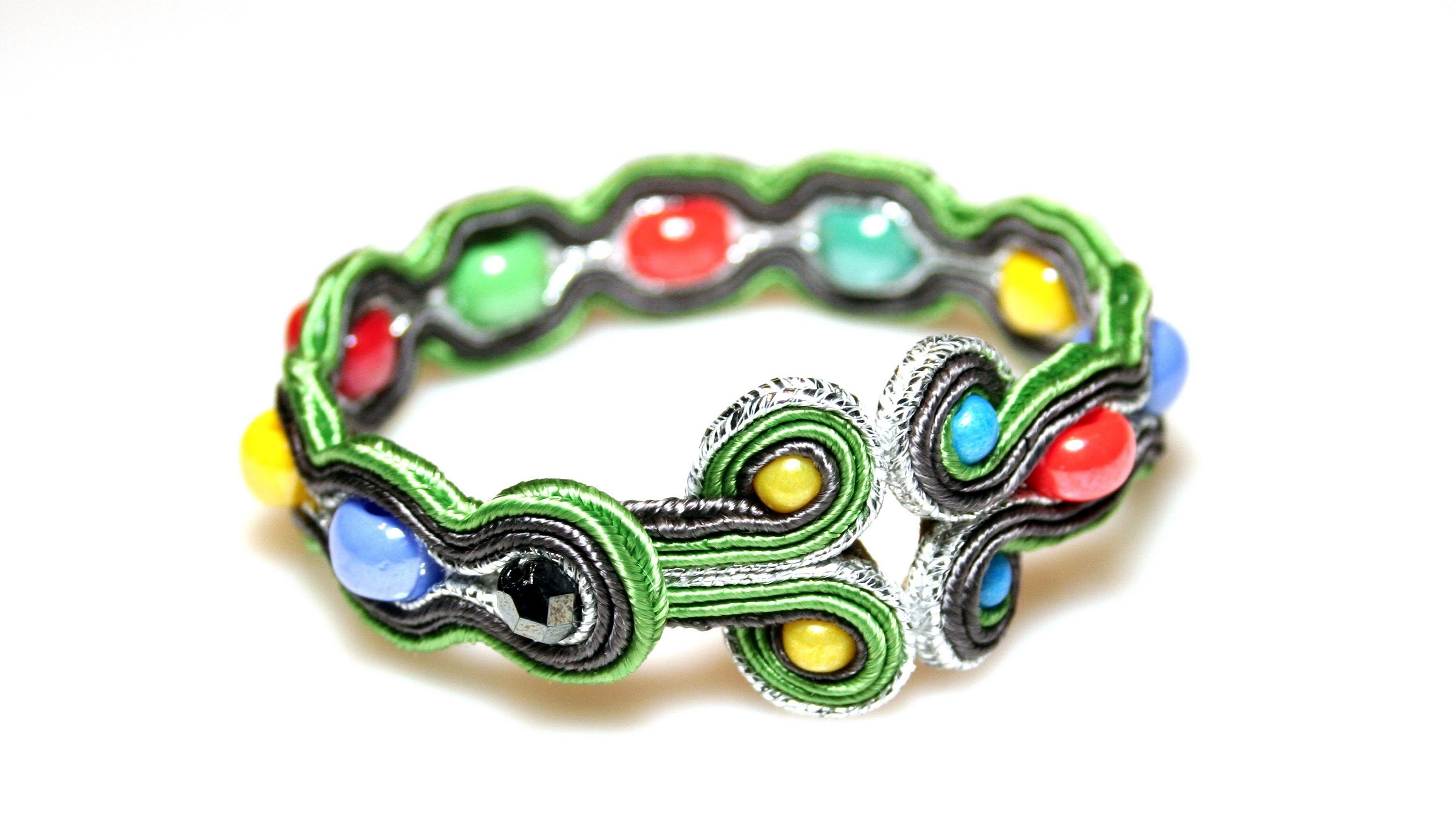 Soutache tutorial - bransoletka