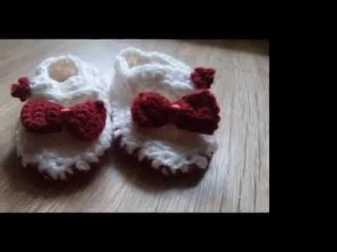 Buciki na szydełku, buty szydełkowe, buciki niemowlęce. crochet boots