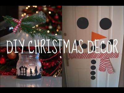 DIY christmas decor. DIY świąteczne dekoracje