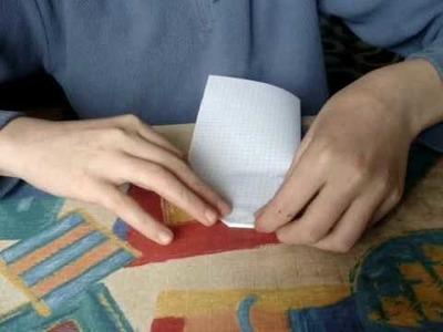 Jak zrobić jaskółke z kartki papieru