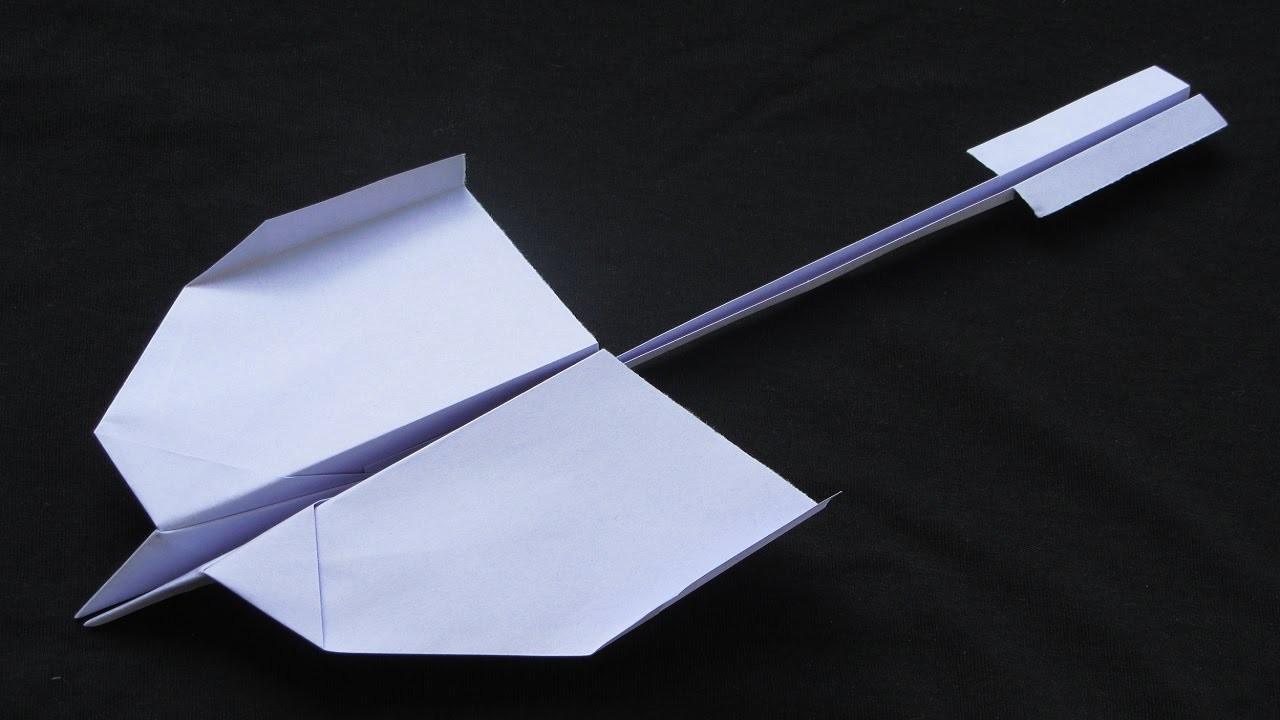 Jak zrobić Papierowy Samolot - Samolot Origami - Najlepszy Papierowy Samolot   Nevermind