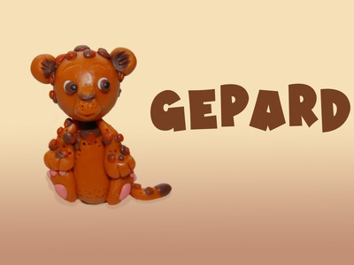 Lepiołki: GEPARD, CHEETAH ░▓██TUTORiAL██▓▒░  polymer clay, made hand