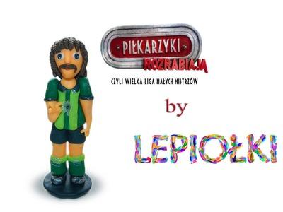 Lepiołki:Piłkarz, Metegol, footballer, polymer clay, TUTOTiAL, made hand