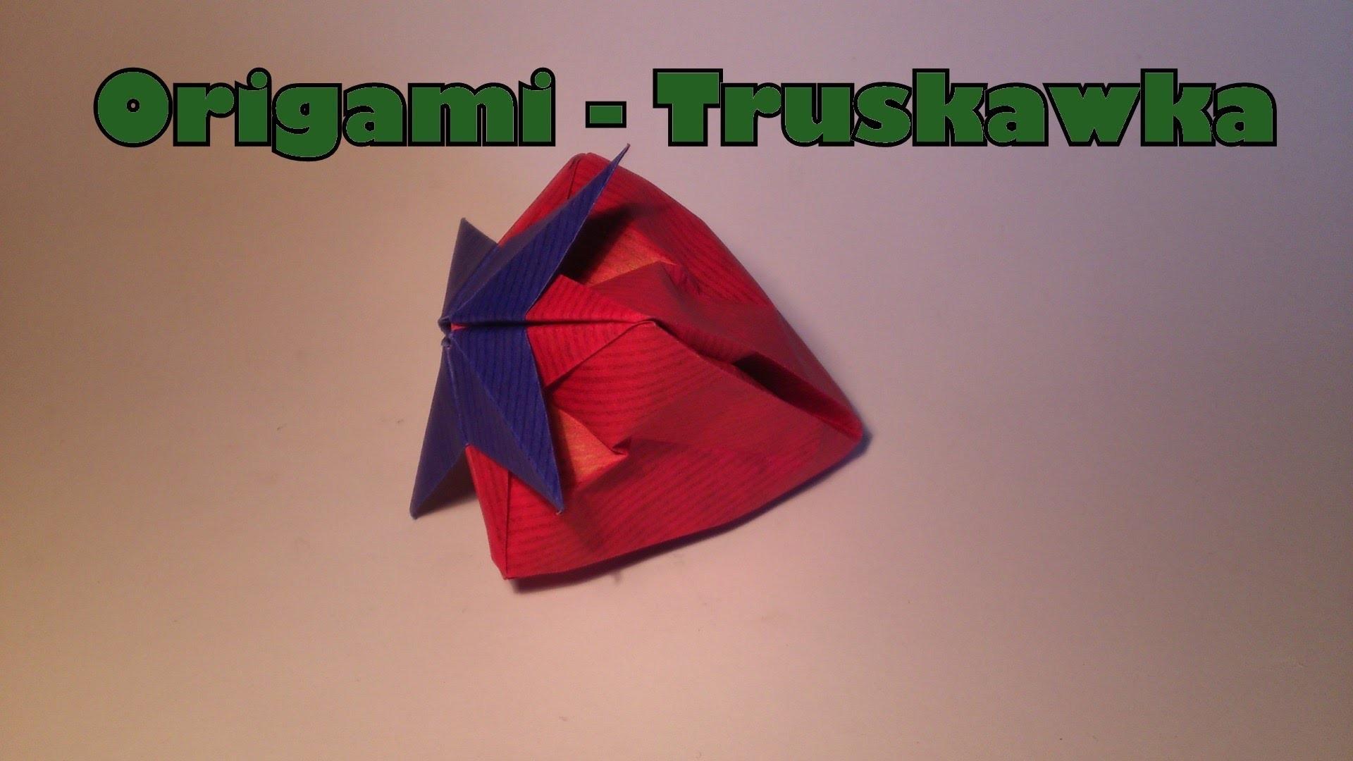 Origami -Truskawka