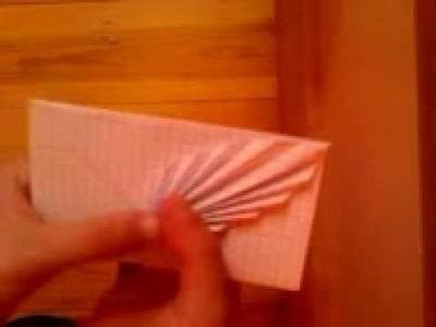 Ozdobna koperta origami