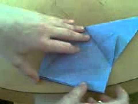 Papierowe Origami #1- Żuraw