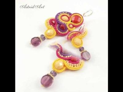 Soutache jewelery -   AstridArt - biżuteria sutasz