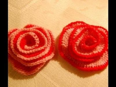 Jak zrobić różyczkę na szydełku - nauka szydełkowania