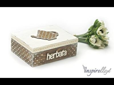 Herbaciarka z imbryczkiem - tutorial z użyciem szablonów