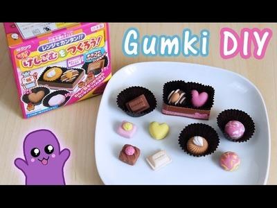 Gumki do ścierania DIY czekoladki - Kutsuwa eraser kit