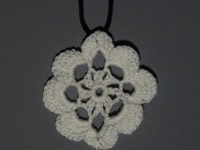 Kwiatek laurowy - Szydełkowanie bez tajemnic [En]