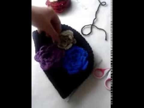 Prosta czapka na szydelku:) cz.2. simple hat part.2