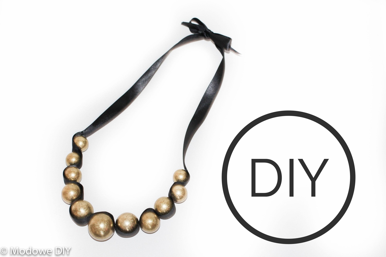 DIY Necklace - Jak wykonać naszyjnik ze wstążki - Modowe DIY