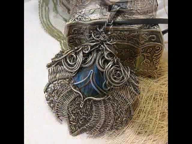 How make wire wrapped jewelry Magdalena Marszalik. Jak powstaje biżuteria wire-wrapping