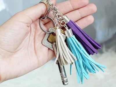 DIY brelok z frędzlami - do kluczy, torebki lub jako DIY naszyjnik