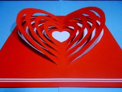 Jak zrobić kartkę Walentynkową #3