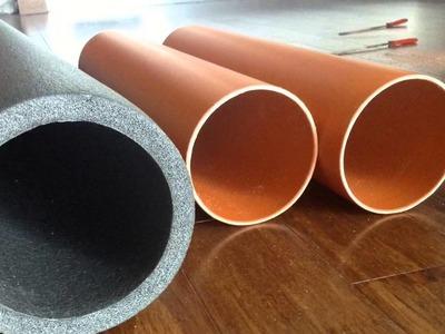 Project Mjollnir [008] - Jak zrobić Foam Roller | How to make a foam roller.