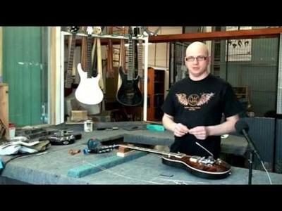 Guitar Mayones - instalacja mostka STETSBAR