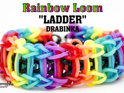 Jak zrobić bransoletkę z gumek Rainbow Loom LADDER (Drabinka) po polsku