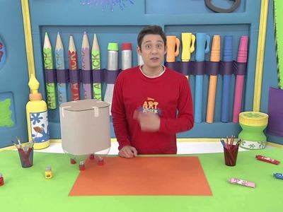 Art Attack - Potwornie potworna szafka. Oglądaj w Disney Junior!