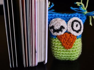 Pluszak Sowa na szydełku.Plush Owl crochet