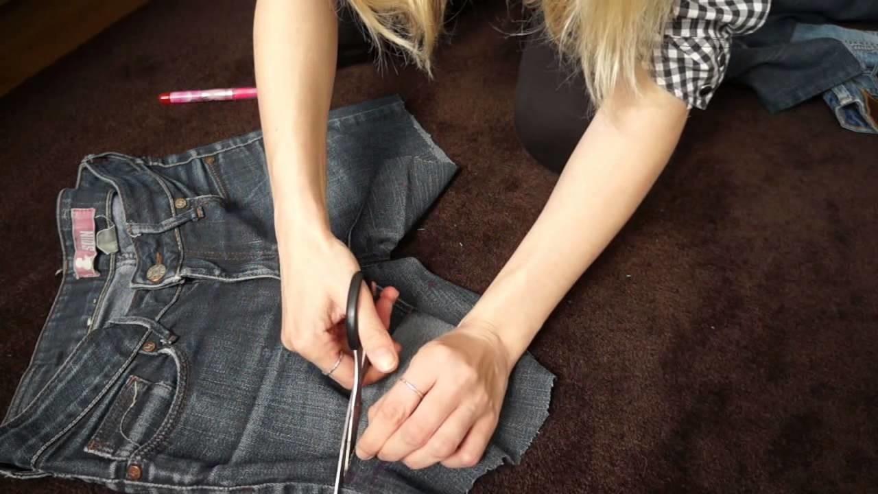 DIY - jak zrobić szorty, krótkie spodenki