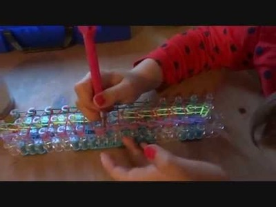 Bransoletki z gumek lekcja 2