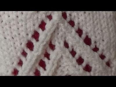 Jak ja to robię - biały sweter - wzór