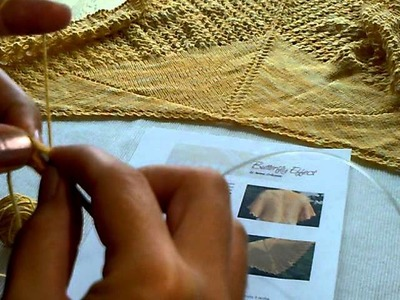 Iwona Eriksson    Jak zacząć chustę na drutach.