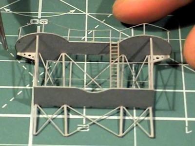 Videorelacja z budowy krążownika ZARA 1:200 ep07. Paper model of the cruiser ZARA tutorial
