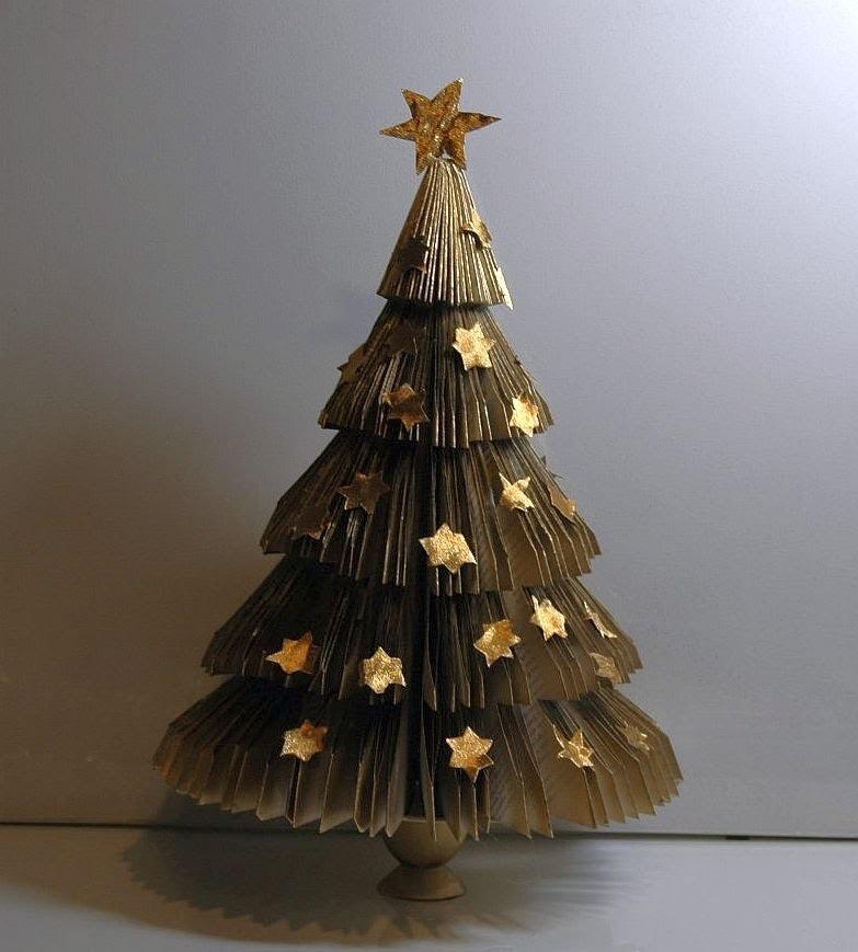Jak zrobić choinkę z papieru. Christmas tree 2. Eлкa DIY