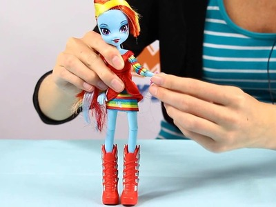 Rainbow Dash Doll. Lalka Rainbow Dash - Equestria Girls - My Little Pony - www.MegaDyskont.pl