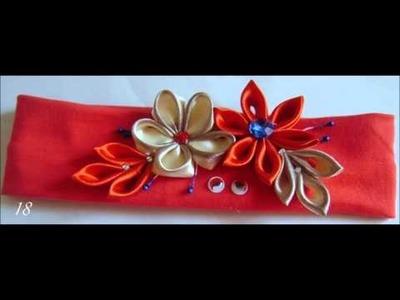 Kachuna Milagro - opaski, ozdoby do włosów z kwiatami