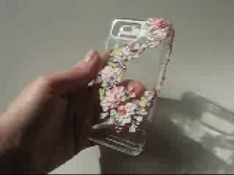 Amazing crystal case for Samsung Omnia! Incrusted with Swarovski crystals! Handmade by Filigri!