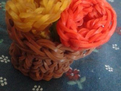 Rainbow Loom - Bukiet kwiatów :)
