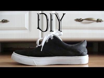 #2 DIY: Malowanie butów - moje nowe-stare trampki