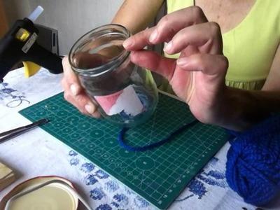 DIY Tutorial Handarbeit*KaffeebehälterKaffeedose*Pojemnik na kawe*Zrób to sam