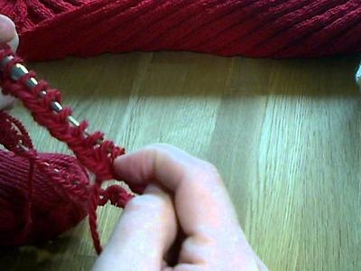 Iwona Eriksson || Jak robić na drutach na żyłce.