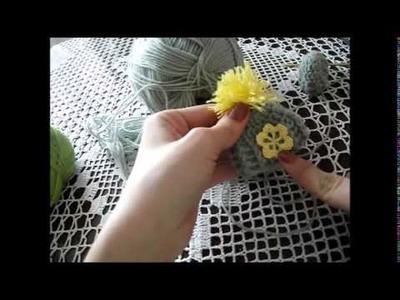 Czapeczka na jajko na szydełku - tutorial