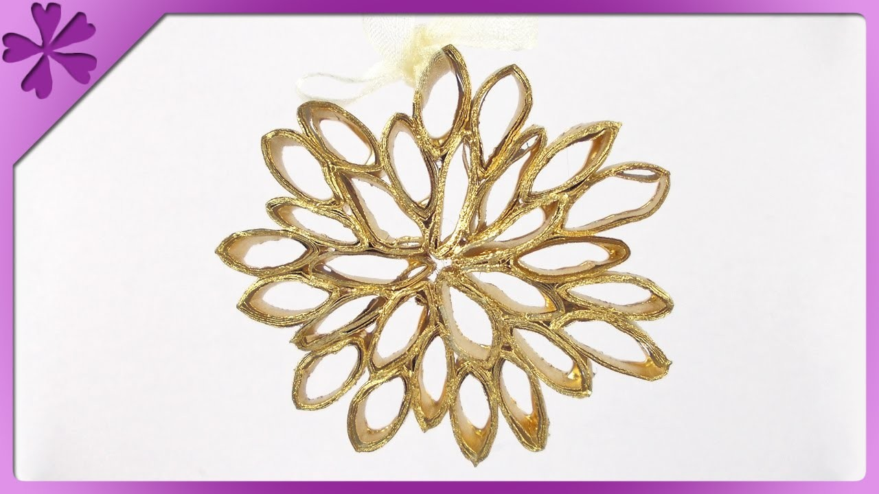 DIY Ozdoba choinkowa. Christmas tree ornament (+ENG Subtitles) - Na szybko #150