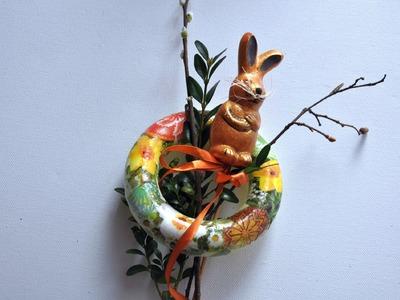 Stroik wielkanocny w 10 minut # DIY Easter ornaments