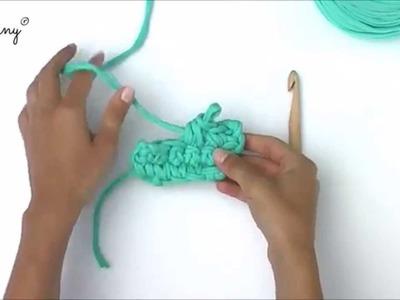 Bobbiny - odejmowanie oczek. decreasing crochet