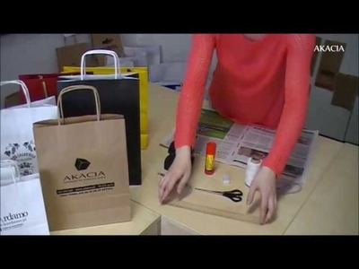Jak zrobić torbę papierową z gazety?