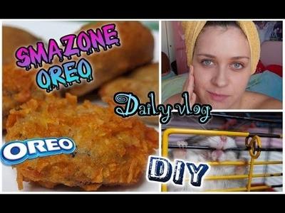 DIY SMAŻONE OREO Dzień w domu Rossmann -49% FRIED OREOS ❤ Daily Vlog TheAmmisu