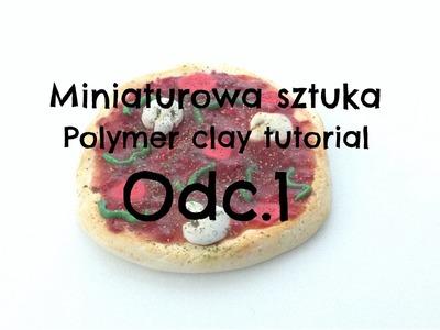Mini Pizza | Polymer Clay Tutorial | Plastyka