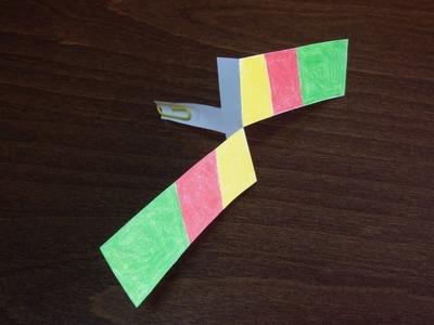 Śmigło z papieru - Zrób to sam, zabawki #6 (Propeller paper)