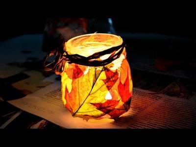 JESIENNY LAMPION DIY ♥